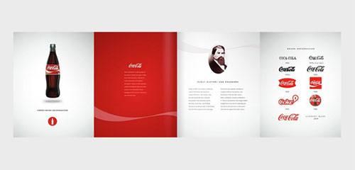 Brand book брендбук Coca Cola Кока Кола