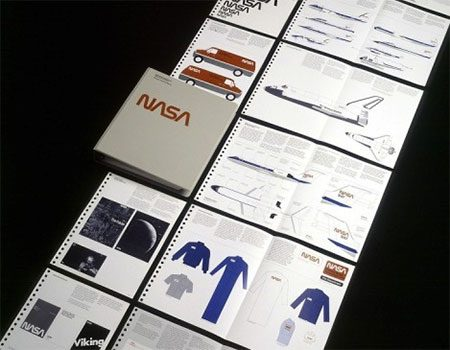 Brand book брендбук NASA НАСА