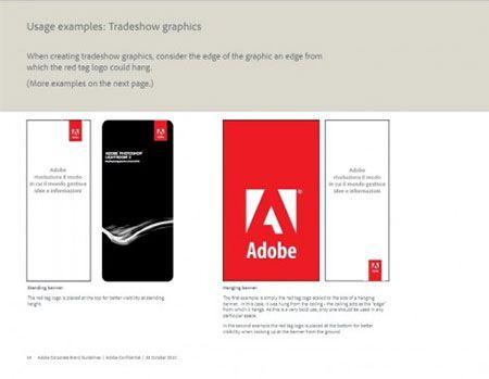 Brand book брендбук Adobe Адоб